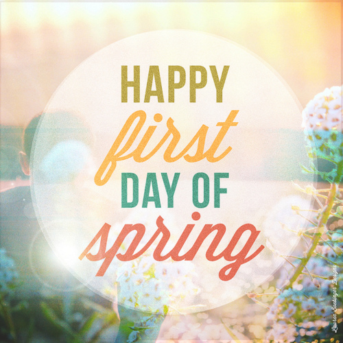 Happy First Day Of Spring Pictures, Photos, and Images for.