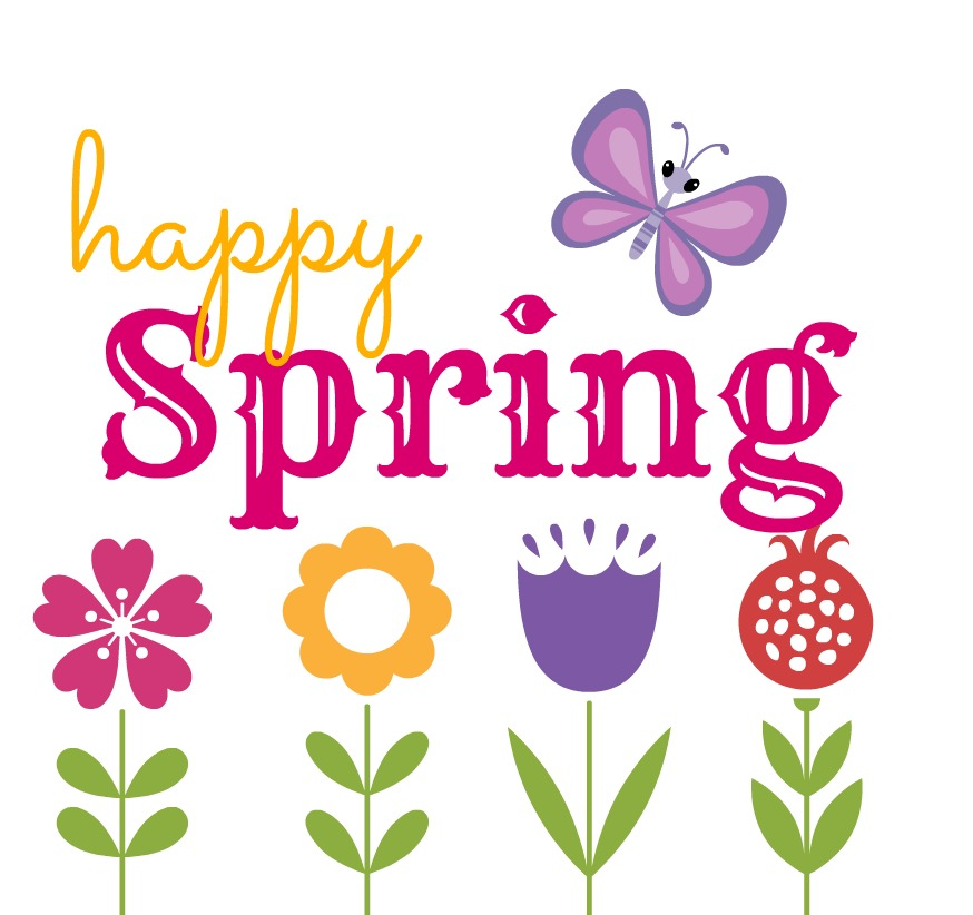 first day of spring clipart.