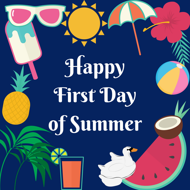 First Day of Summer! Members who have outdoor seating!.