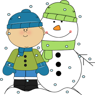 First day of winter clip art.