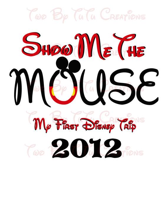 I'm Going to Disney World! Printable Iron On Transfer or use as.