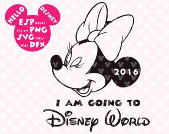 First Disney Trip Clipart.