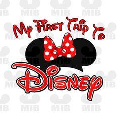 My First Disney Trip Clipart.