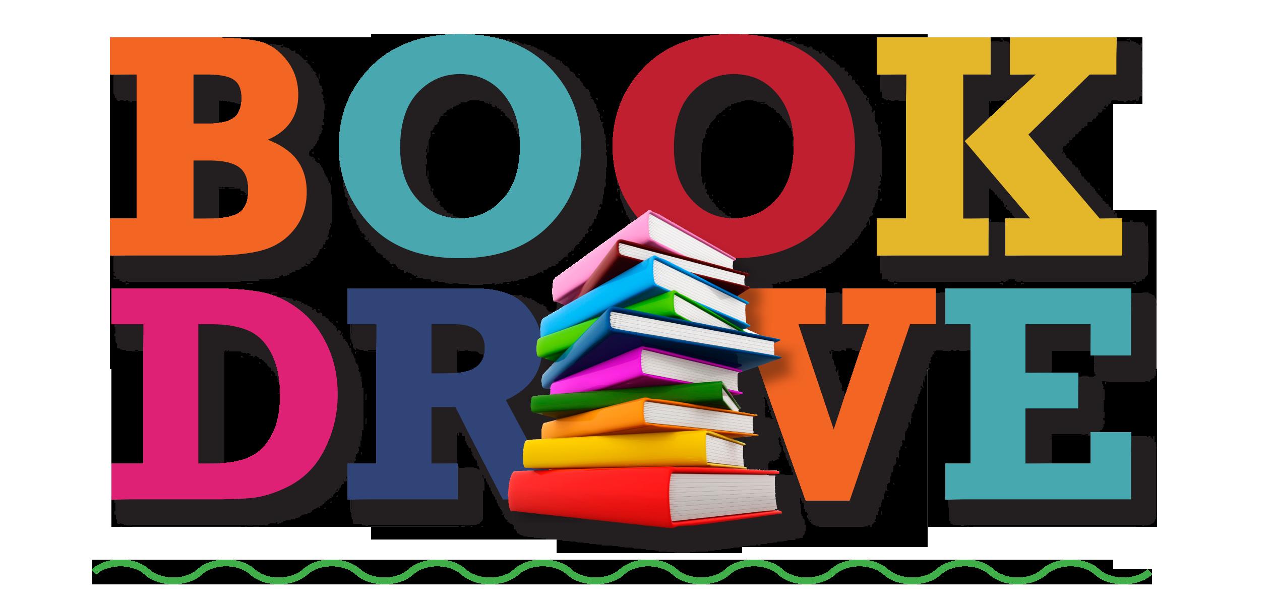 Book drive clip art.