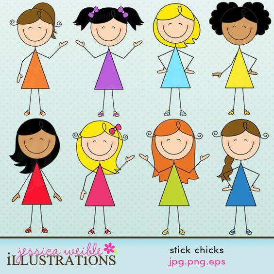 Stick Chicks.