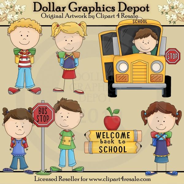 Stick Figure Clip Art : Dollar Graphics Depot.