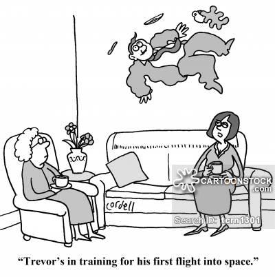 First Flight Cartoons and Comics.