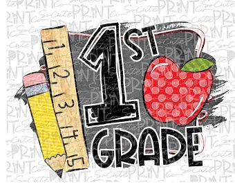 1st grade clipart.