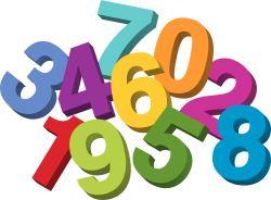First Grade Math Clipart.