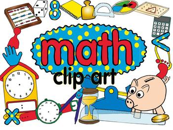 Math clip art set.