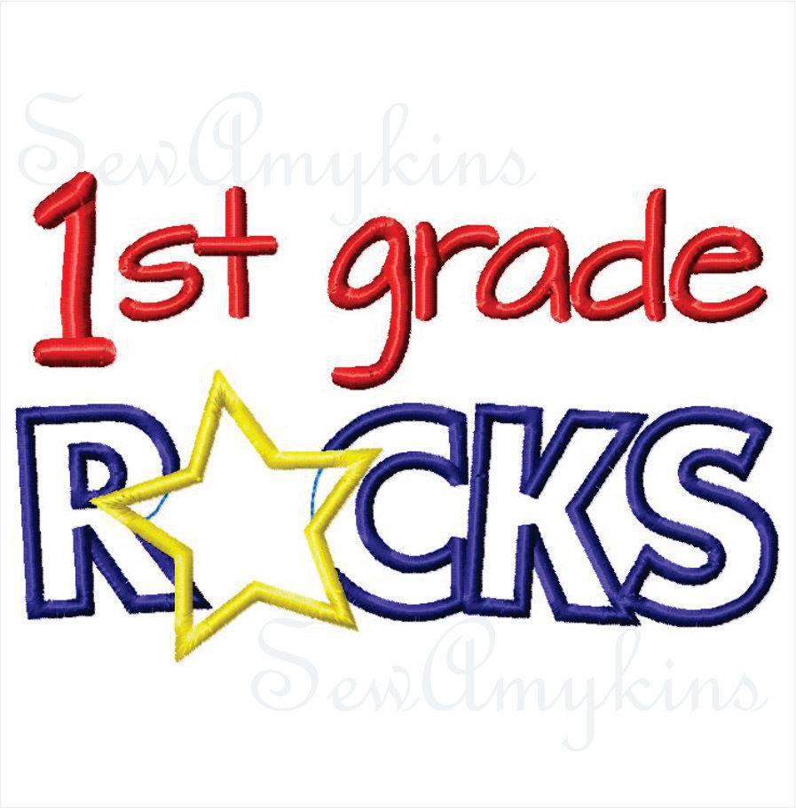 First Grade Clipart.
