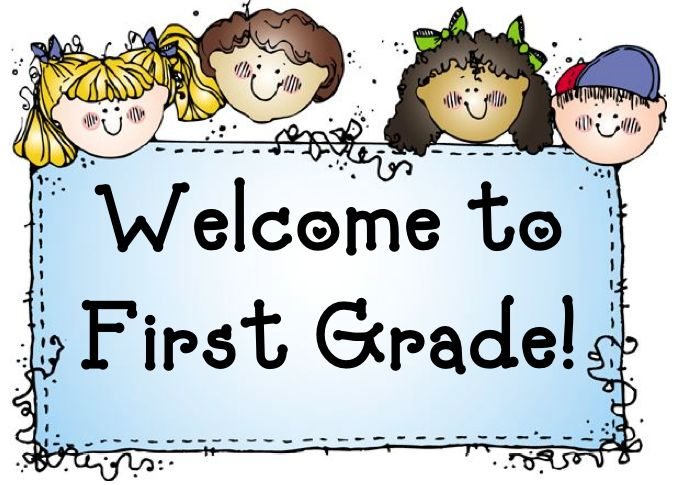 First Grade Student Clipart.