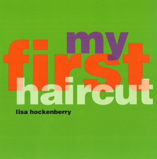 first haircut clip art