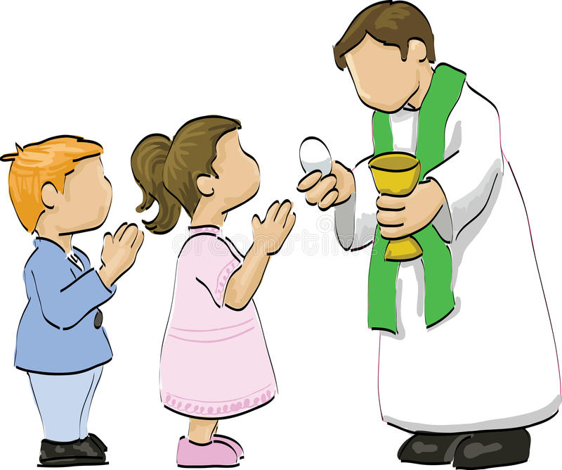 Holy Communion Stock Illustrations.