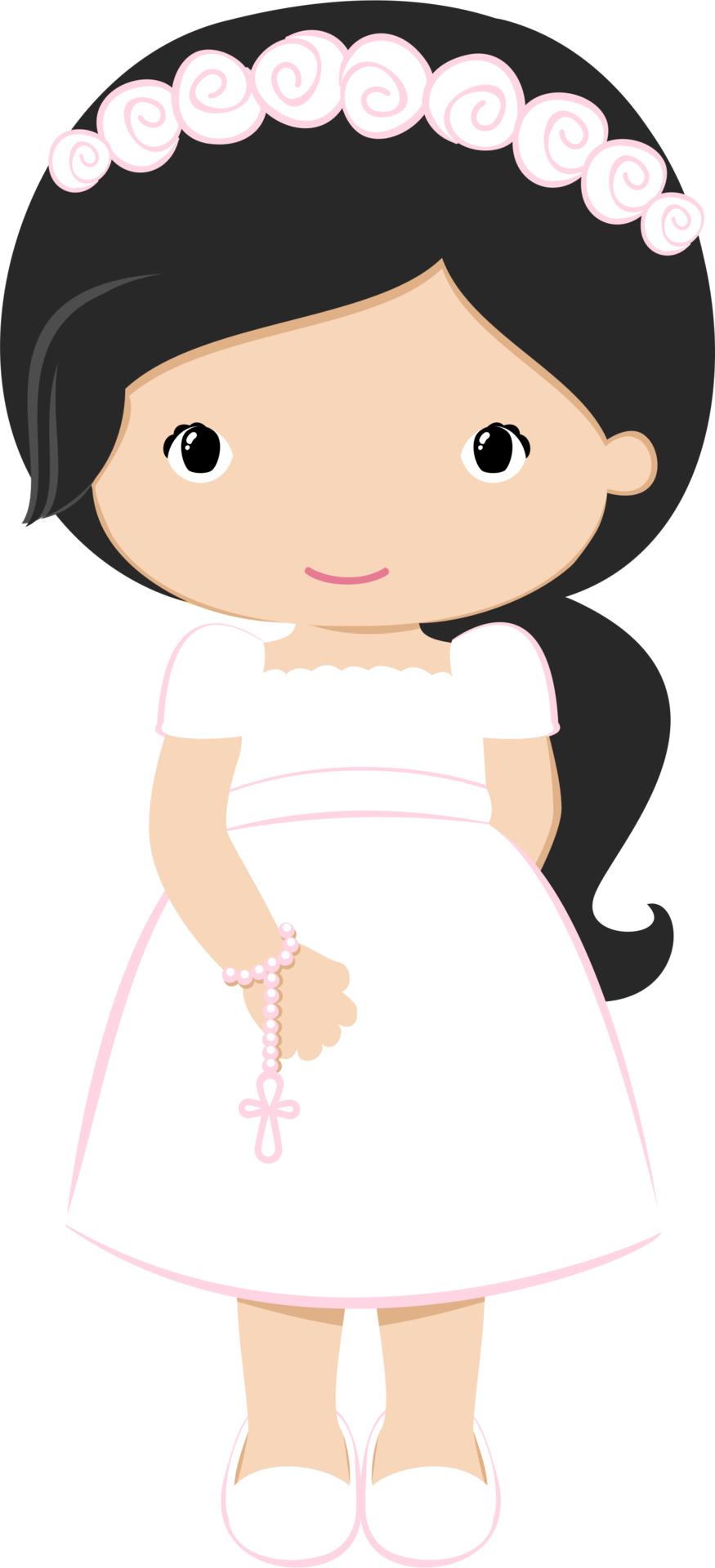 First Holy Communion, Clipart, Babyshower, Decoupage,.