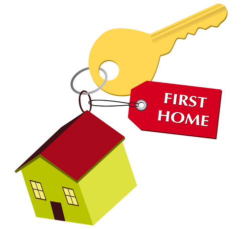 First Home Clipart.