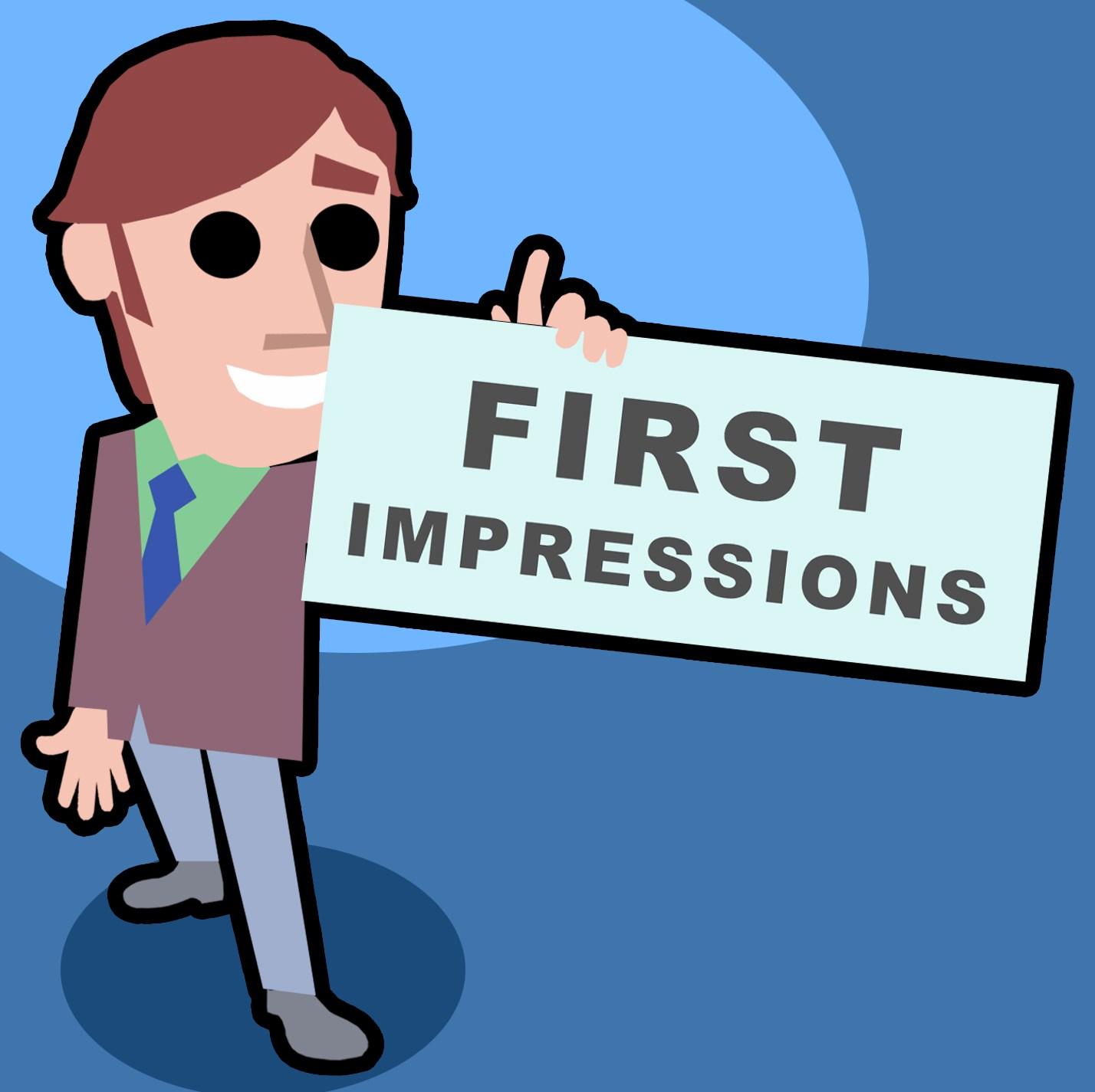 First impressions clipart 4 » Clipart Portal.