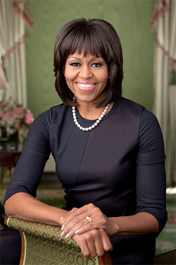 """Exchange for a Day"""" with First Lady Michelle Obama."""