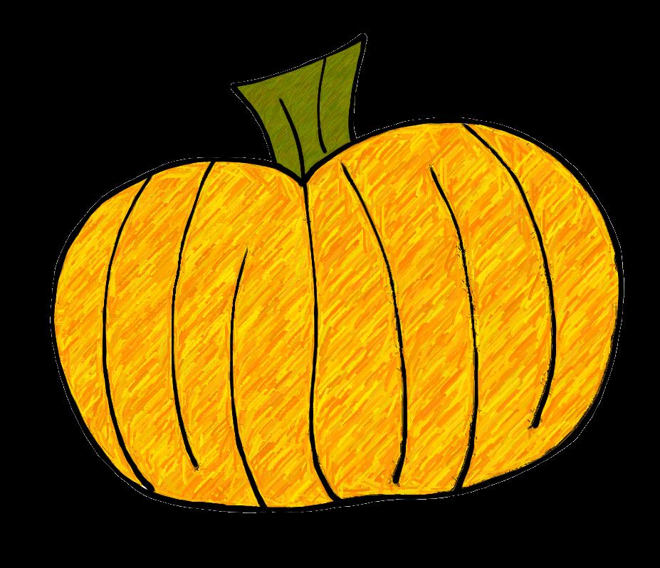 Pumpkin Leaves Clipart.