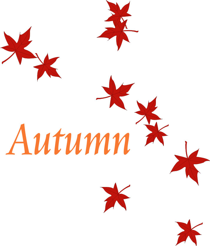 Falling Leaves Clipart.