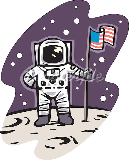 First men in the moon clipart - Clipground