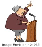 Gallery For > People Giving Speeches Clipart.