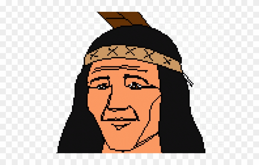 Headdress Clipart First Nation Person.