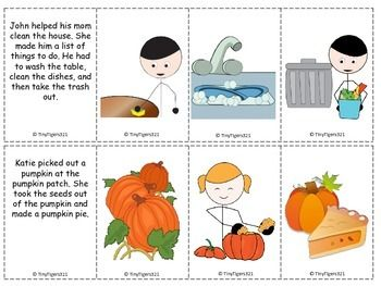 First, Next, Last Story Sequencing Part 2.