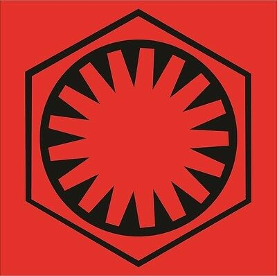 The First Order Logo Decal / Sticker.