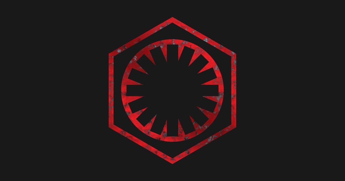The First Order/New Imperial Logo.