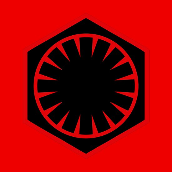 \'The First Order Logo\' Poster by geekomic.