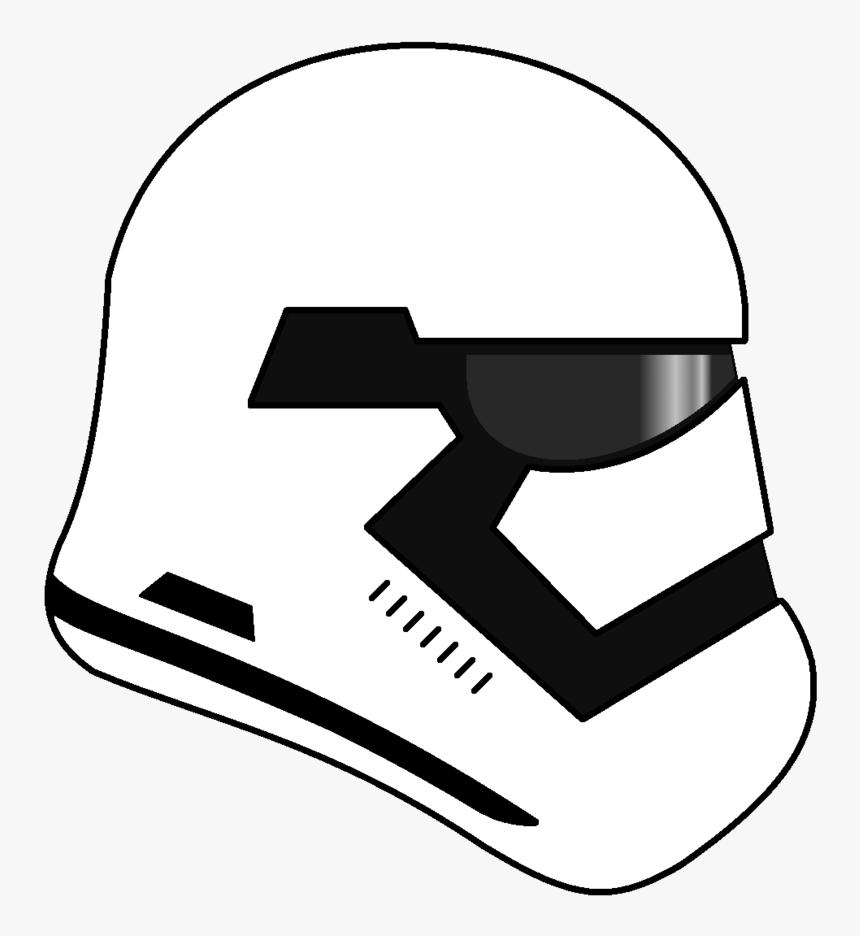 First Order Stormtrooper Helmet Png.