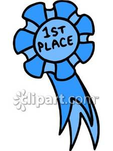 First Place Ribbon Clipart.