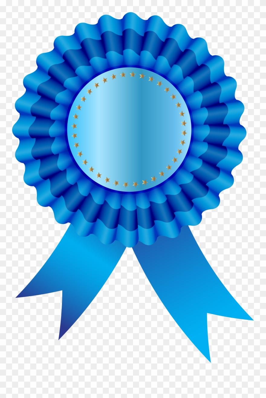 Blue Seal Ribbon Free Png Clip Art Image Transparent Png (#102465.