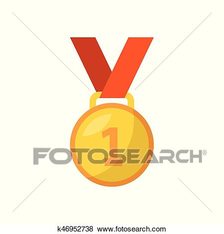 First place medal Clip Art.