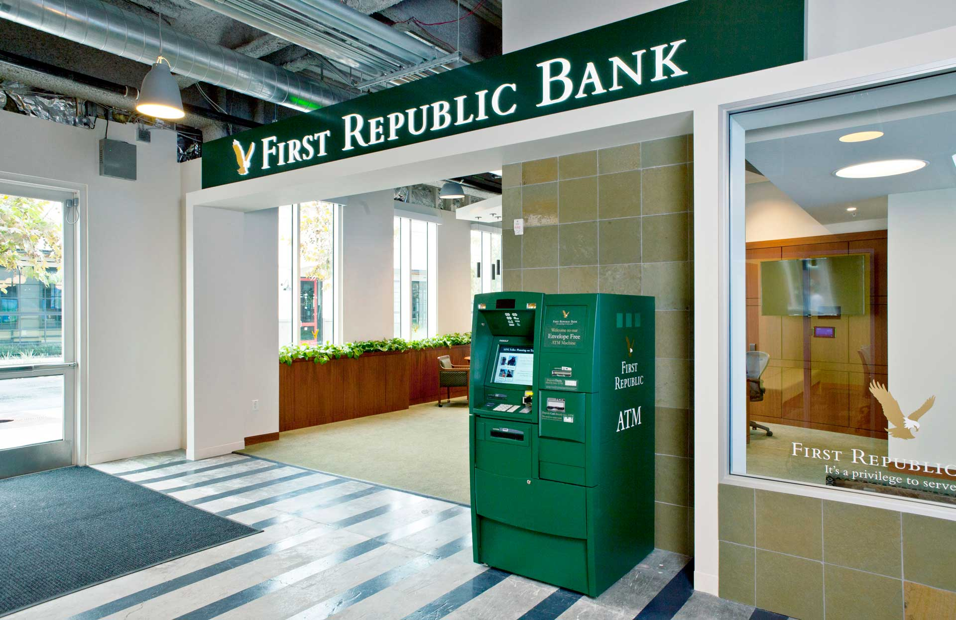 First Republic Bank.
