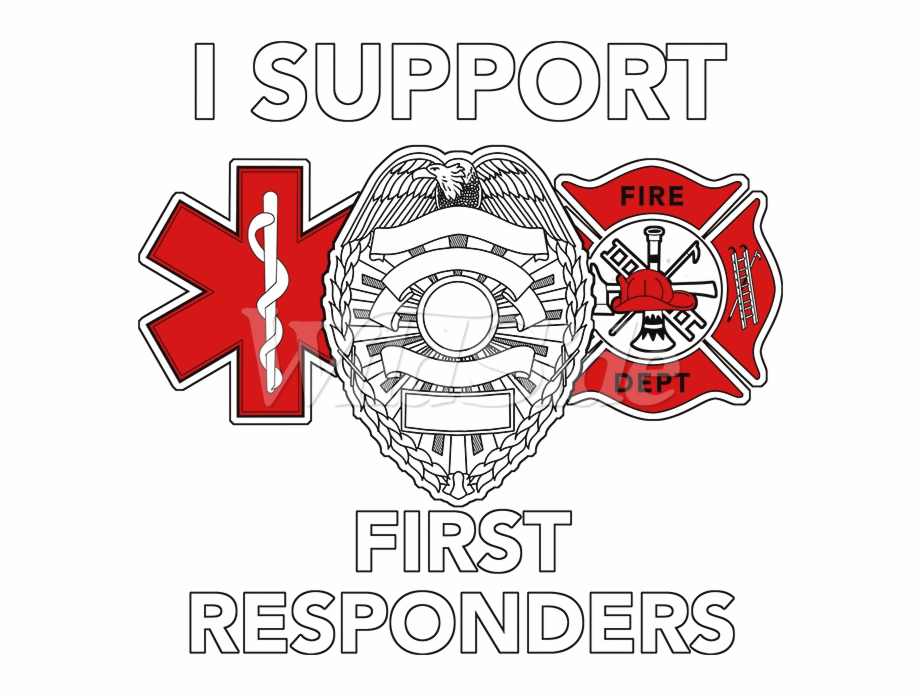 I Support First Responders.