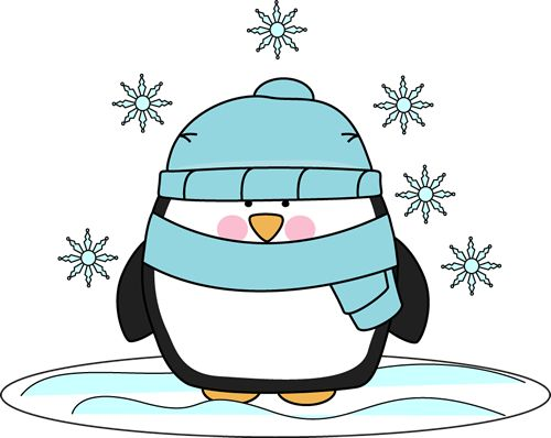 First Snow Clip Art.