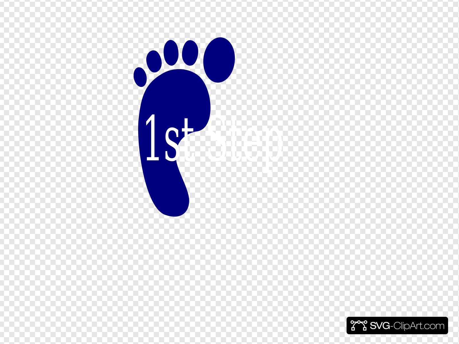 First Step Clip art, Icon and SVG.