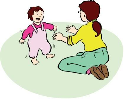 Baby Steps Clipart.