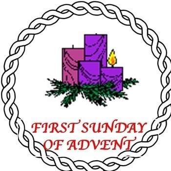 Advent clipart first sunday advent, Advent first sunday.