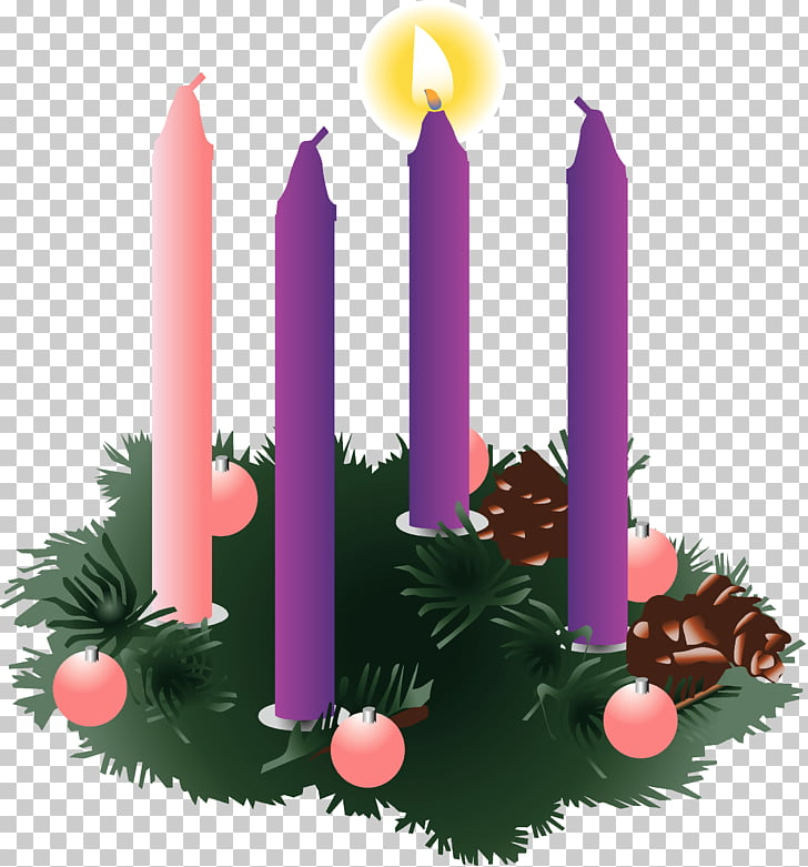 Advent wreath Advent Sunday Advent candle, first PNG clipart.