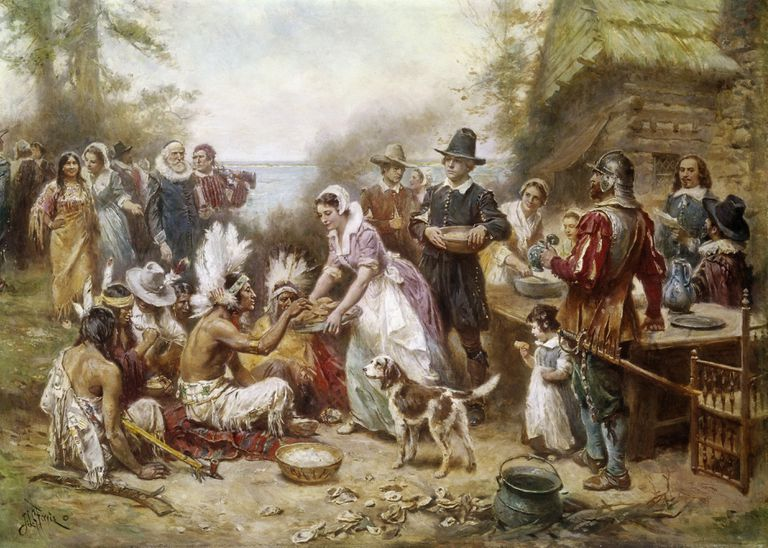 Thanksgiving for ESL Students: History and Quiz.