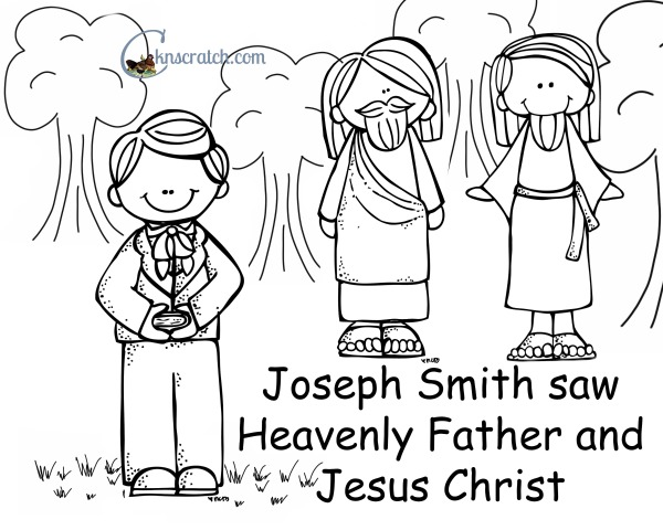 click the joseph smith first vision coloring pages to view.
