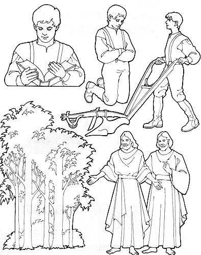 Clipart Joseph Smith First Vision.