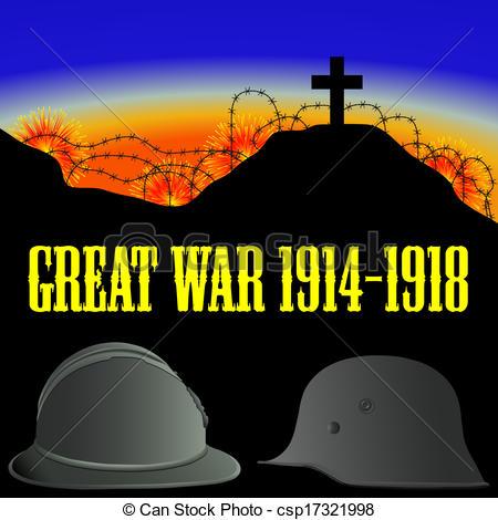 First world war clipart.