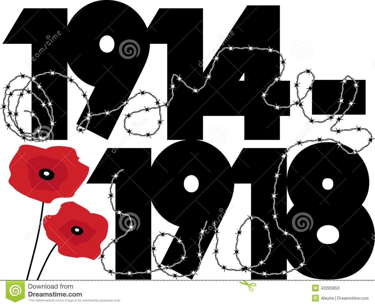 First World War Clip Art.
