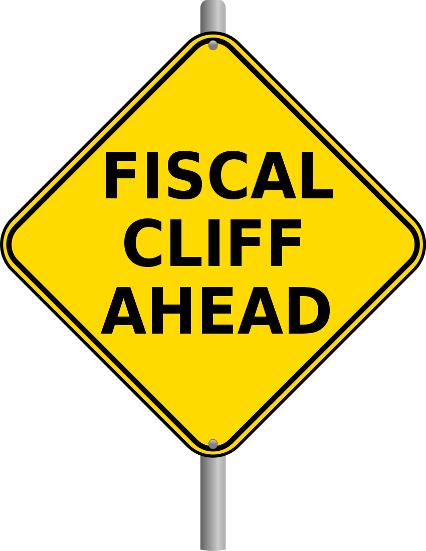 fiscal cliff ahead page.