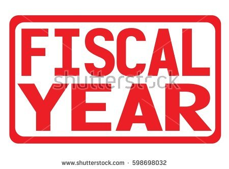 Fiscal Year Stock Images, Royalty.