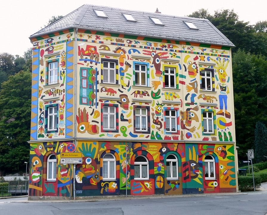 Free photo: Craffiti House.